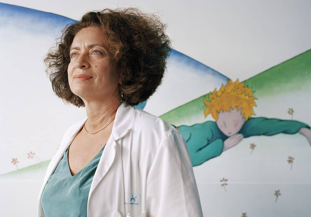 Ghada Hatem, chef du service gynécologie-obstétrique de l'Hôpital Delafontaine à Saint-Denis  (93) et médecin-chef de la Maison des Femmes. Photo @Mathieu Zazzo