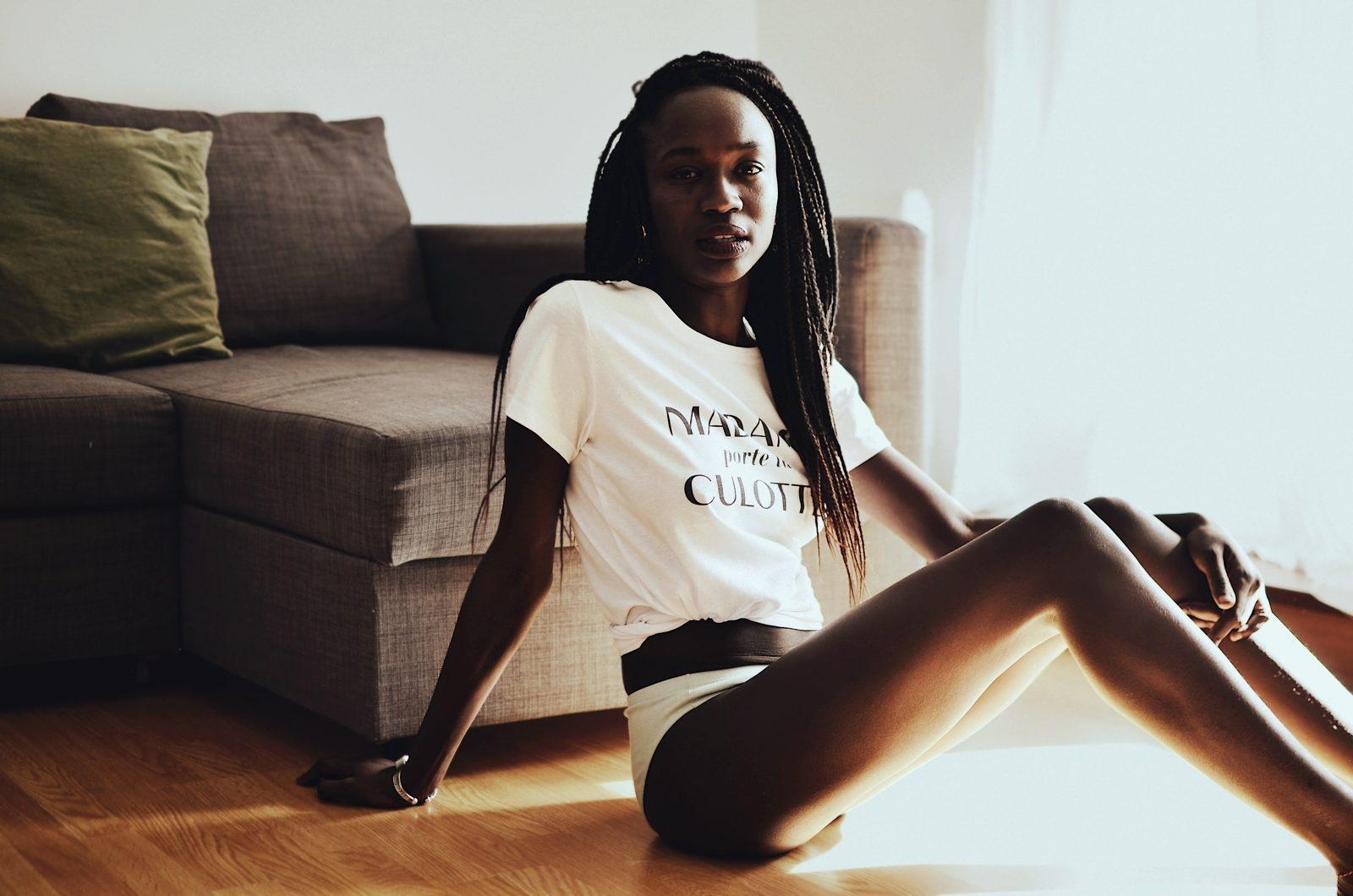 découvrez notre t-shirt en coton bio madame