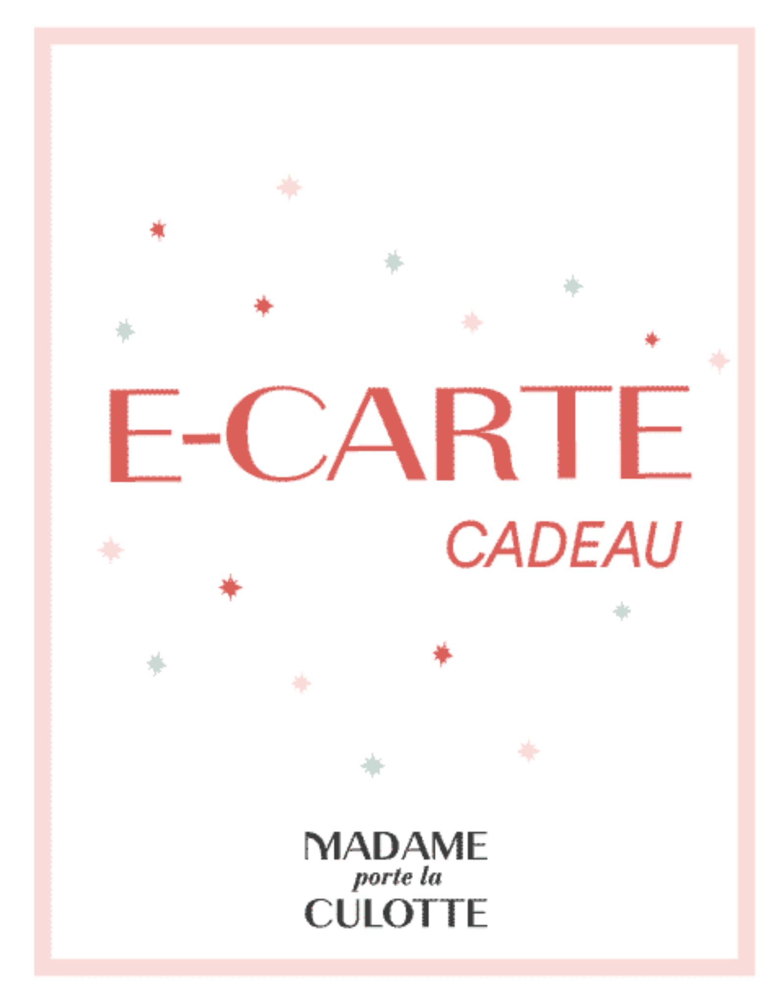 E-Carte Cadeau Madame porte la culotte