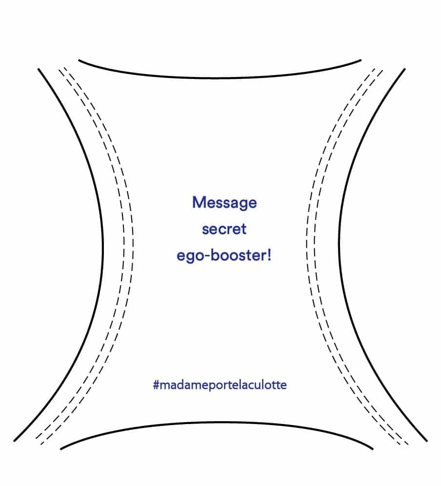 Message ego-booster culotte